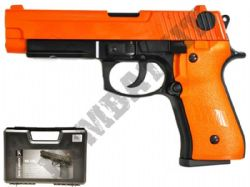 HG170 BB Gun Sig Sauer P226 Replica Airsoft Gas Blowback Pistol 2 Tone Orange Black Metal